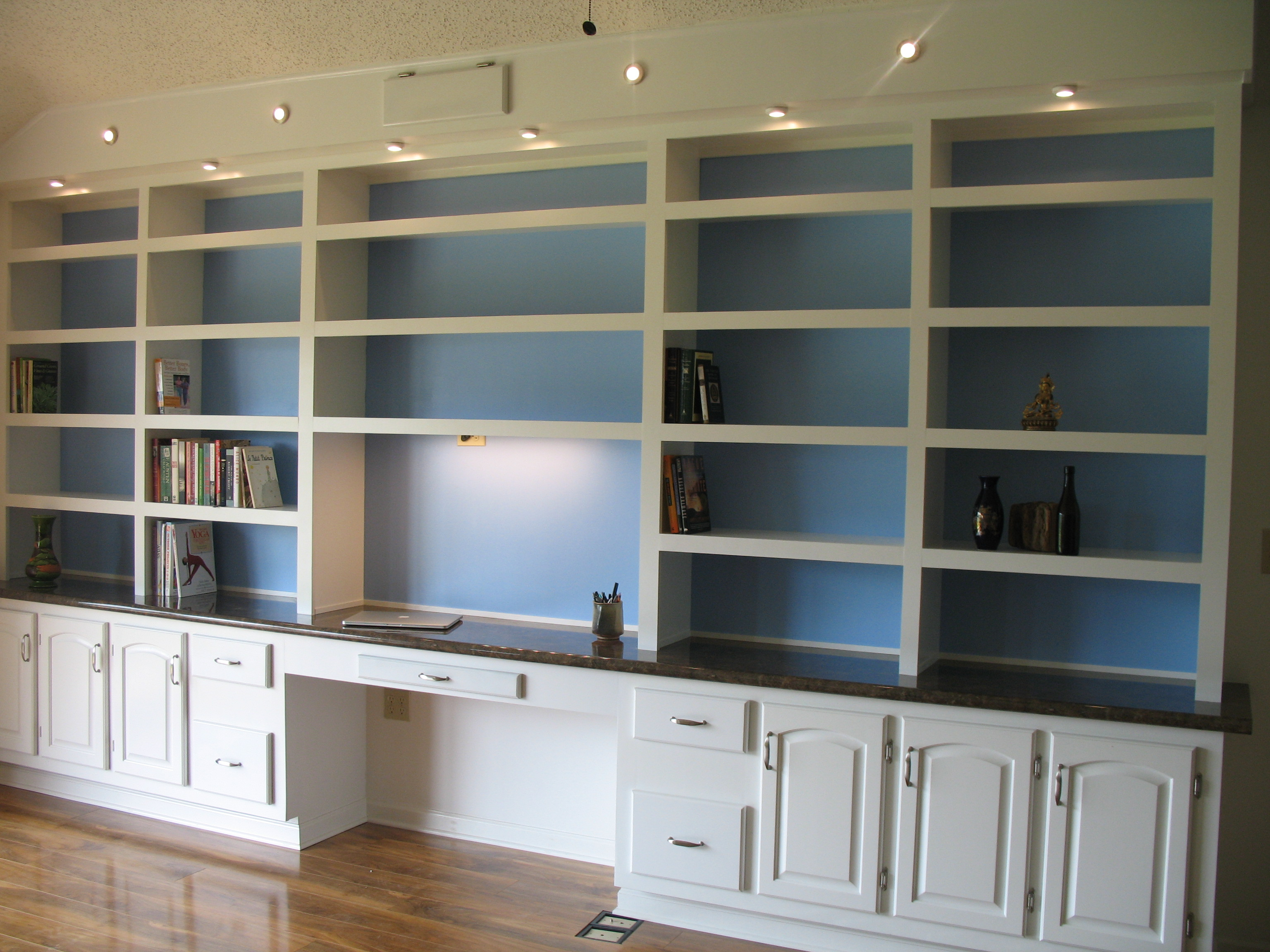 Bookcase with Cabinets